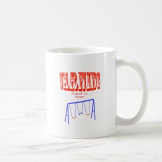 oscilaciones de humor propensos amonestadores taza de café
