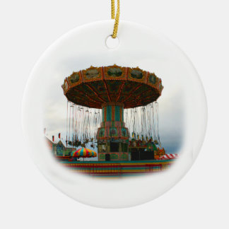 Oscilaciones de los parques de atracciones parados ornaments para arbol de navidad