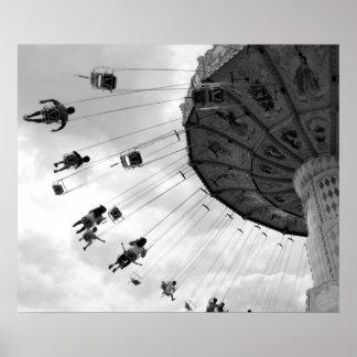 Oscilaciones del carnaval póster