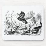 Oscilar-caballo-mosca Alfombrillas De Ratón