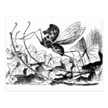 Oscilar-caballo-mosca Postal