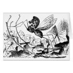 Oscilar-caballo-mosca Tarjetas