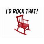 Oscilaría esa silla tarjeta postal