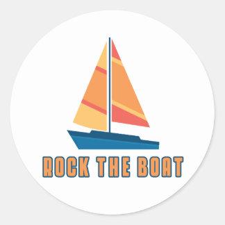 Oscile el barco etiquetas
