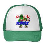 Oscile el casquillo del camionero de la tortuga gorras de camionero