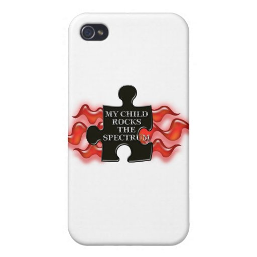 ¡OSCILE EL ESPECTRO! iPhone 4 FUNDA