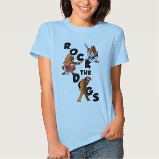 Oscile la camiseta de la muñeca de los perros remeras