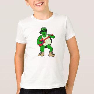 Oscile la camiseta de los niños de la tortuga