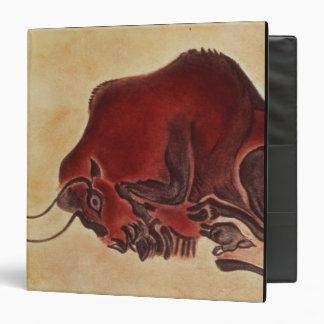 """Oscile la pintura de un bisonte, último carpeta 1 1/2"""""""