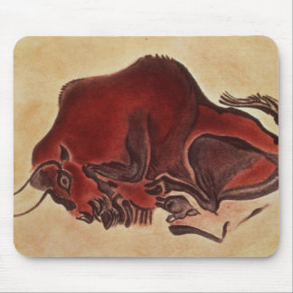 Oscile la pintura de un bisonte, último Magdalenia Alfombrillas De Ratón