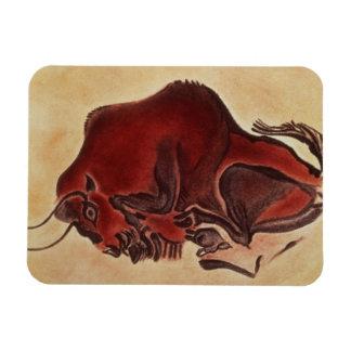 Oscile la pintura de un bisonte, último Magdalenia Imán Foto Rectangular
