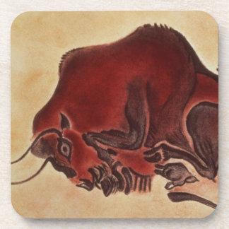 Oscile la pintura de un bisonte, último Magdalenia Posavasos