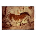 Oscile la pintura de un caballo, c.17000 A.C. Felicitacion