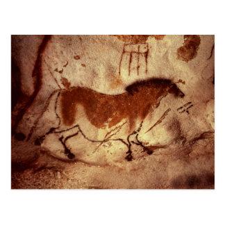 Oscile la pintura de un caballo, c.17000 A.C. Tarjetas Postales