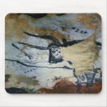 Oscile la pintura de un toro con los cuernos largo alfombrilla de ratones