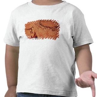 Oscile la pintura de una escena de la caza, camisetas