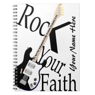 Oscile su cuaderno del G-Estilo de la fe