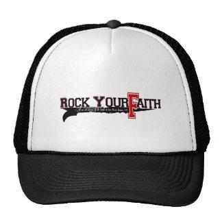 Oscile su firma de la fe gorras de camionero