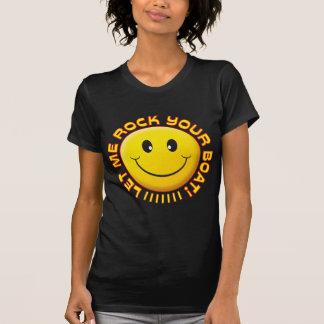 Oscile su smiley del barco camisetas