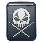 Oscile y ruede el caso de metales pesados del bate funda para iPads