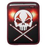 Oscile y ruede los casos de metales pesados del iP Mangas De iPad