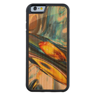 Oscillating Color Abstract Carved® Cherry iPhone 6 Bumper Case