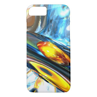 Oscillating Color Abstract iPhone 7 Case