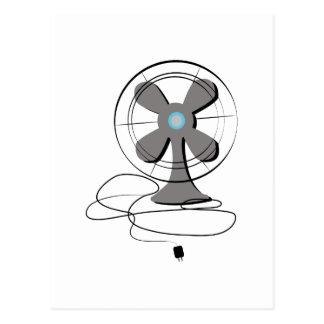 Oscillating Fan Postcard
