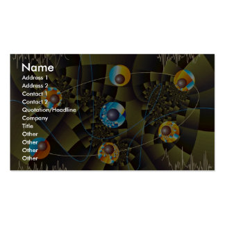 Oscillations Orbit Double-Sided Standard Business Cards (Pack Of 100)