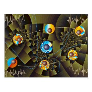 Oscillations Orbit Postcard