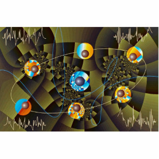 Oscillations Orbit Standing Photo Sculpture