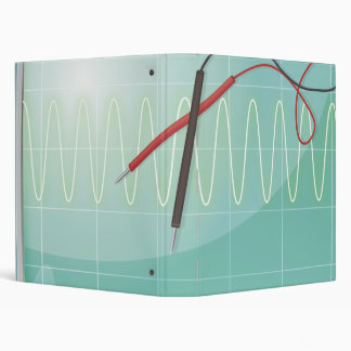 Oscilloscope 3 Ring Binder