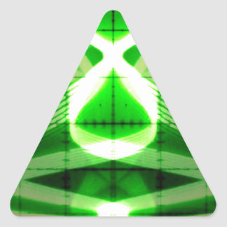 Oscilloscope Grasshopper Triangle Sticker