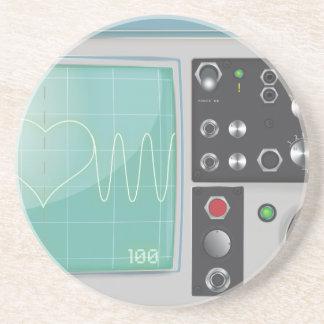 Oscilloscope Love Drink Coaster
