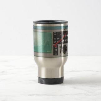 Oscilloscope Love Travel Mug
