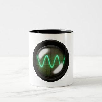 Oscilloscope Two-Tone Coffee Mug