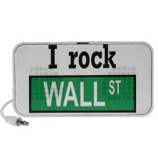 Oscilo el Doodle de Wall Street por el altavoz de