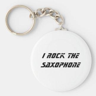 Oscilo el saxofón llavero redondo tipo pin