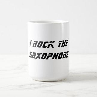 Oscilo el saxofón taza clásica