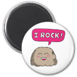 Oscilo, humor lindo de la roca del dibujo animado iman para frigorífico