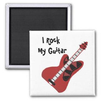 Oscilo mi guitarra imán de frigorifico