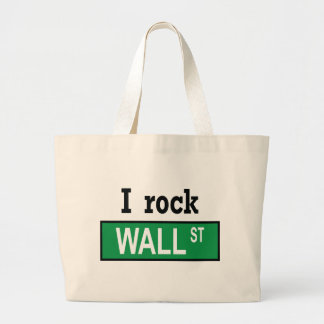 Oscilo Wall Street - bolso Bolsa Tela Grande