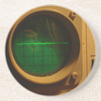Osciloscopio análogo 1964 posavasos diseño