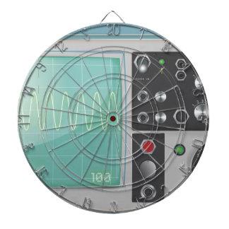 osciloscopio tablero dardos
