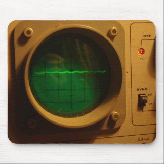Osciloscopio Mousepad Tapetes De Ratón