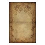 Oscuridad 2 de la elegancia del vintage papelería de diseño