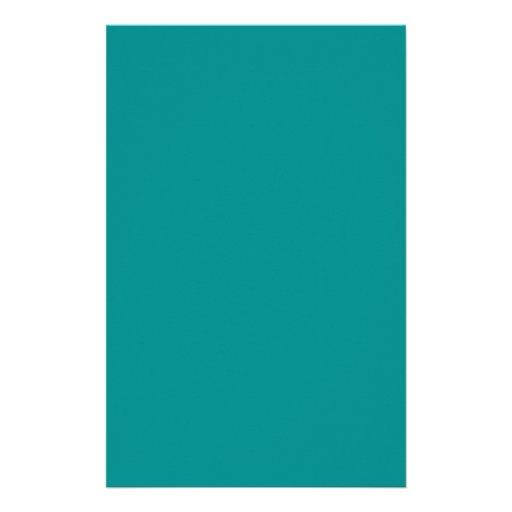 Oscuridad Aguamarina-Coloreada Papelería