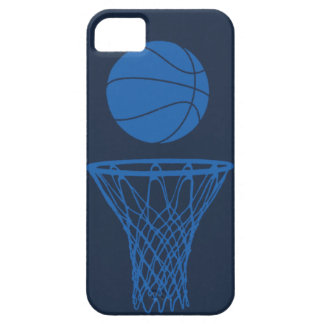 oscuridad azul inconformista de la silueta del iPhone 5 carcasa