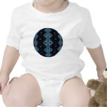 Oscuridad azul profunda trajes de bebé