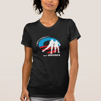 Oscuridad básica de Girlie Camisetas
